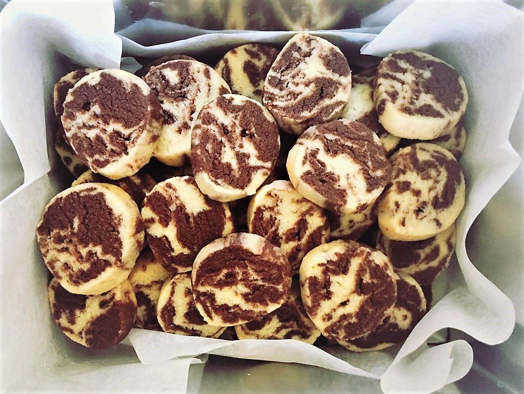 marbrés vanille chocolat