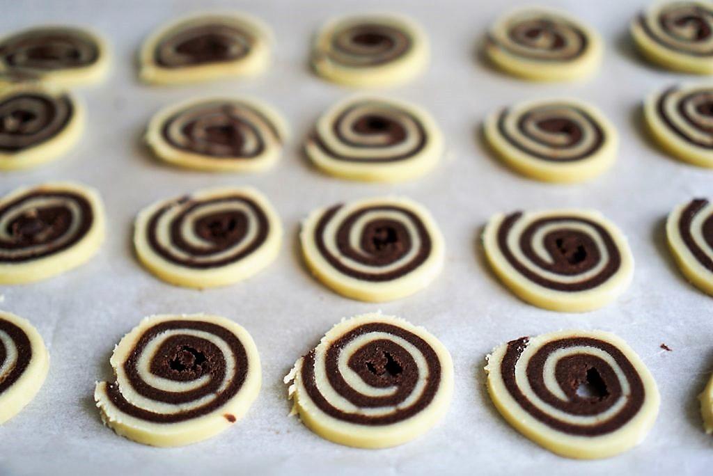 spirales chocolat