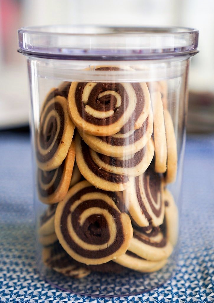 spirales vanille chocolat