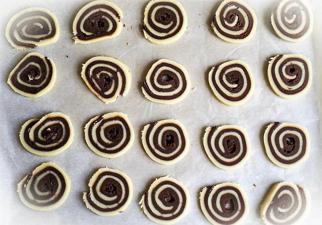 spirales vanille chocolat recette