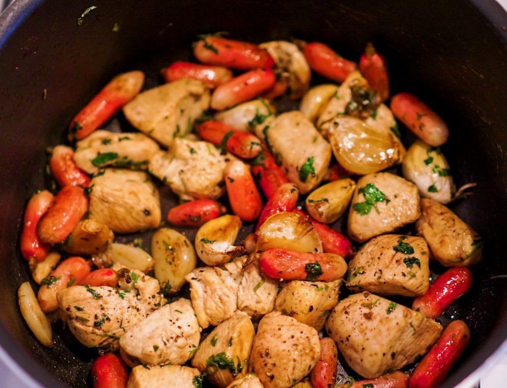 poulet recette