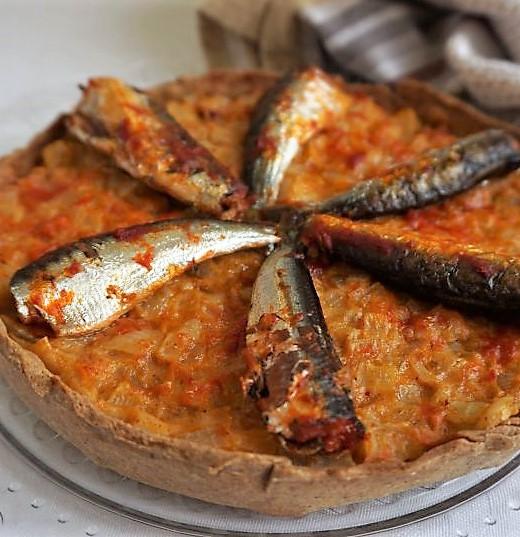 tarte aux sardines