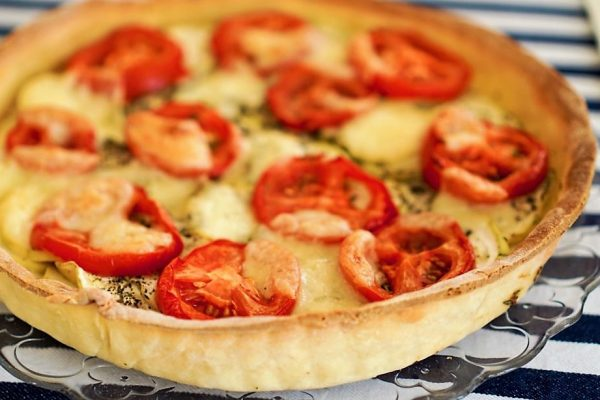 Tarte tomates mozzarella