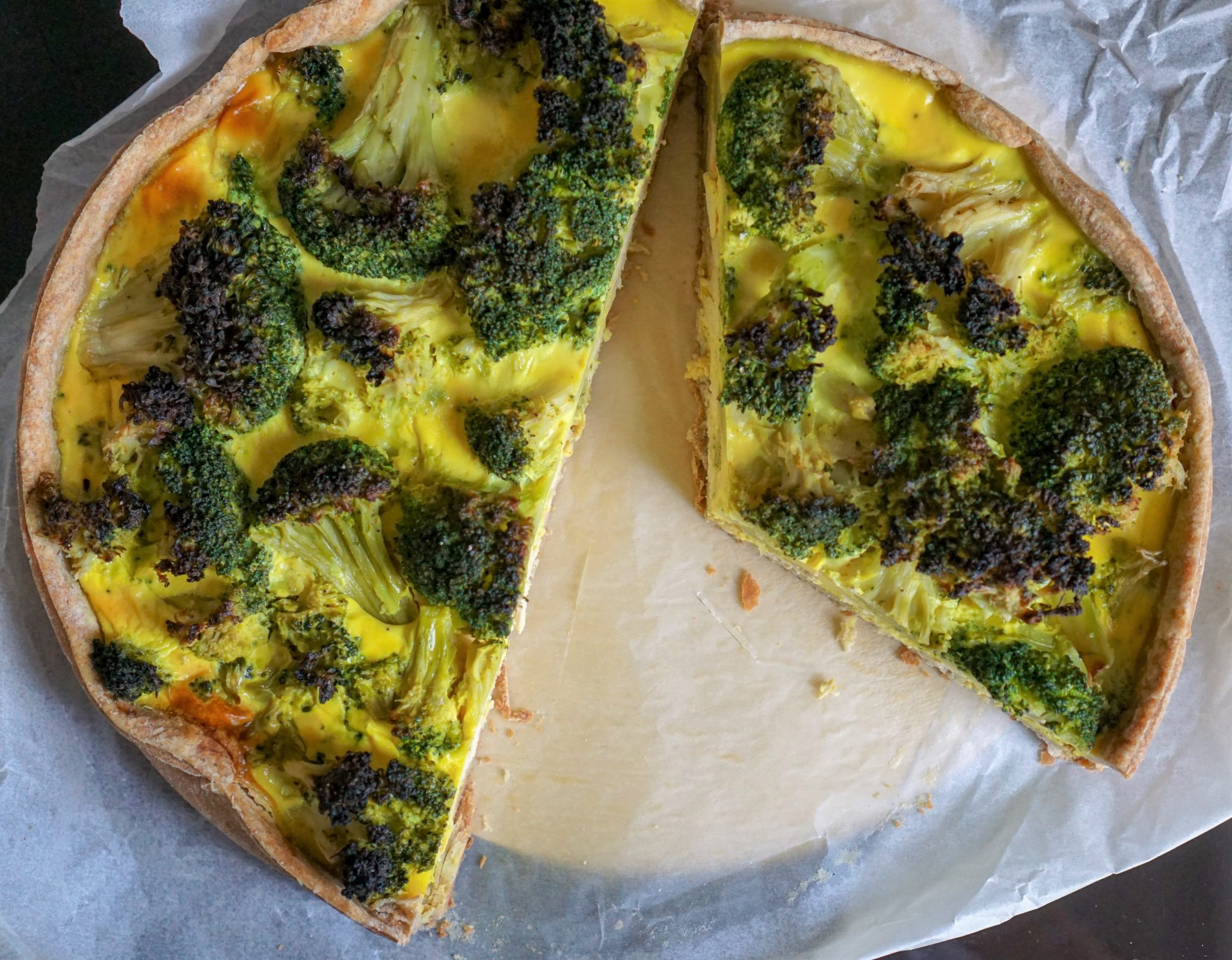 quiche légumes sans gluten