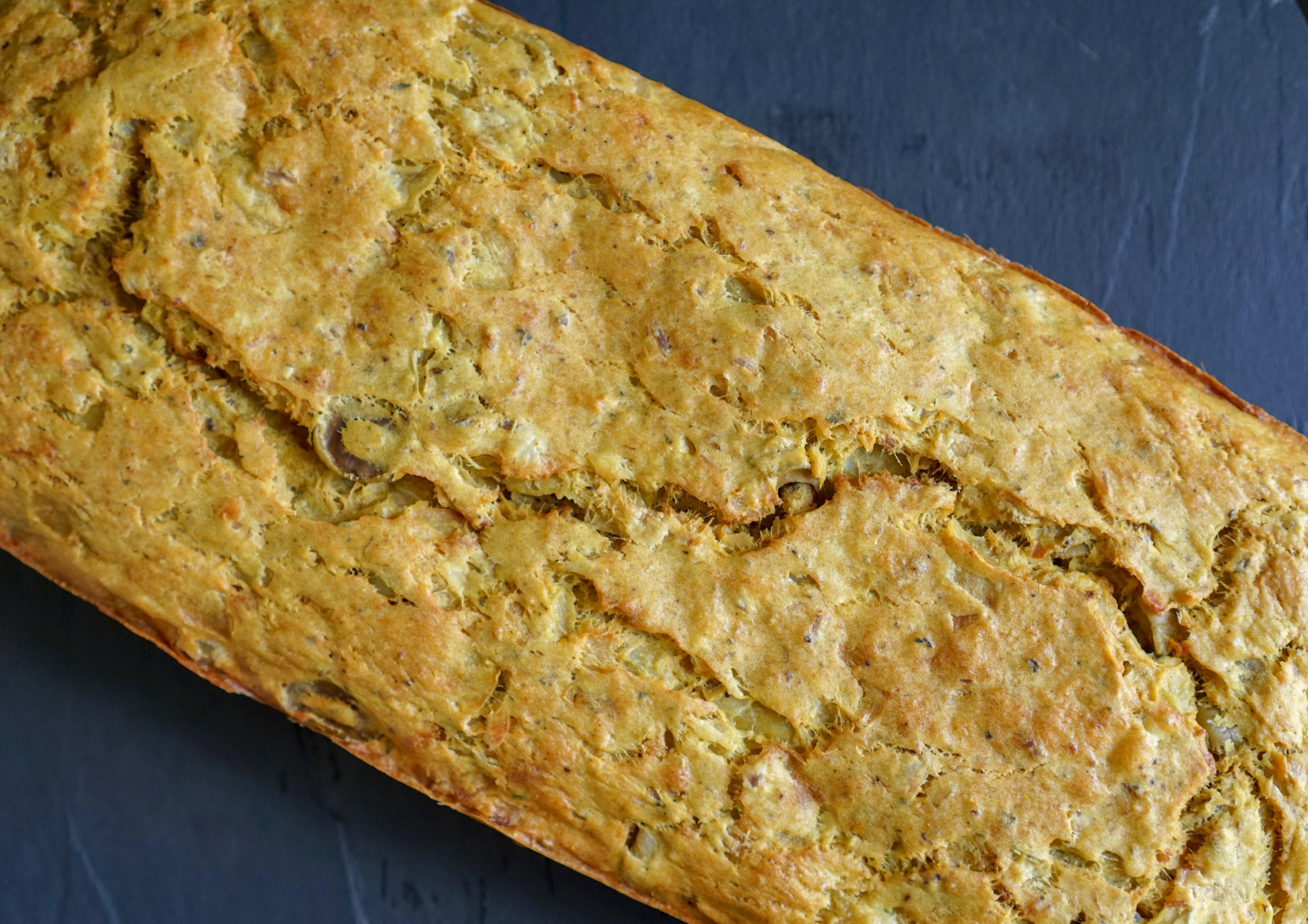 cake au thon et aux olives recette facile