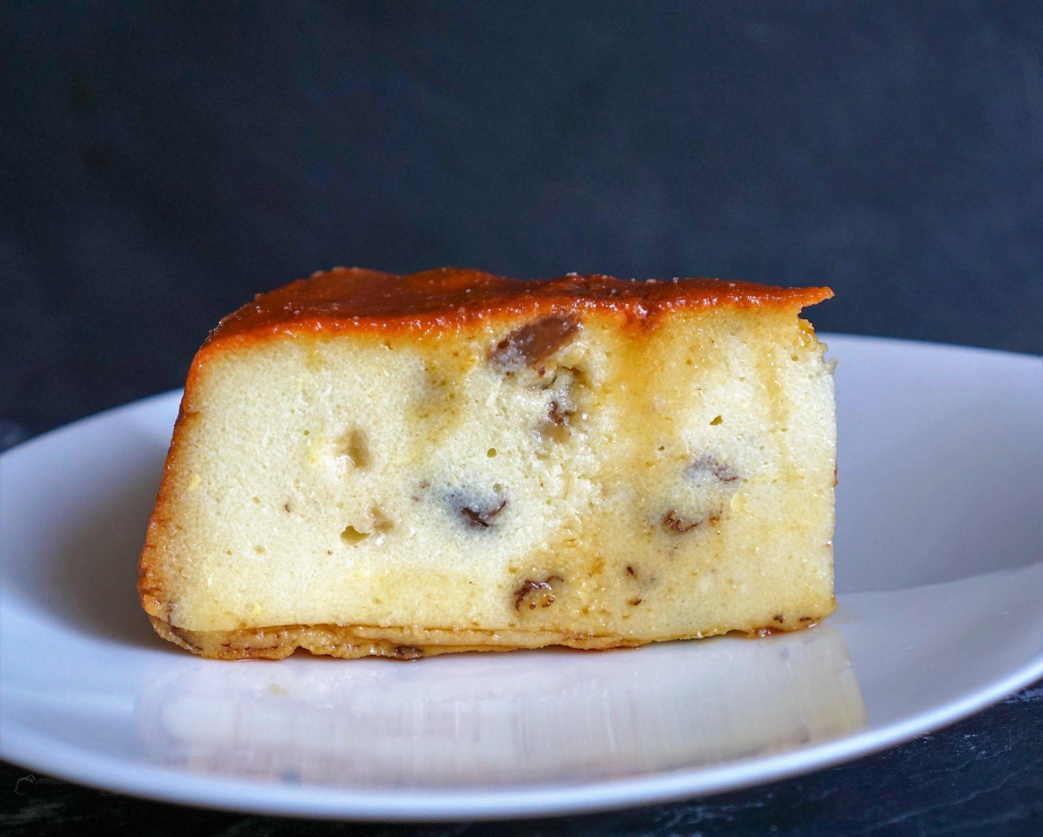 gâteau de semoule au caramel beurre salé