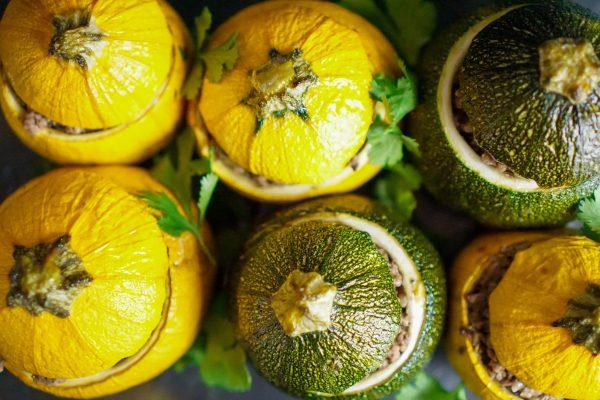 Courgettes farcies recette maison équilibrée rapide healthy