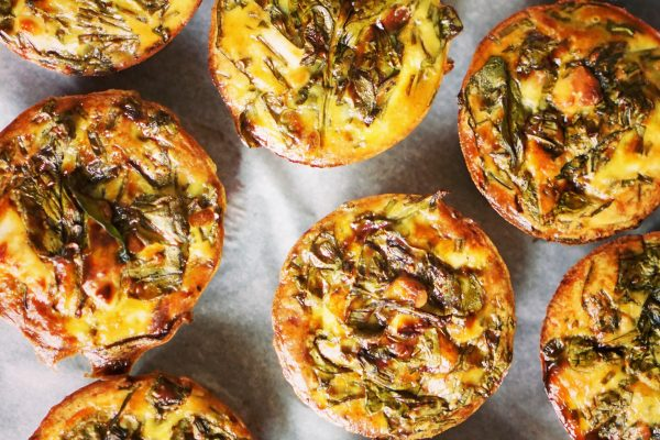 frittata épinards betterave recette healthy
