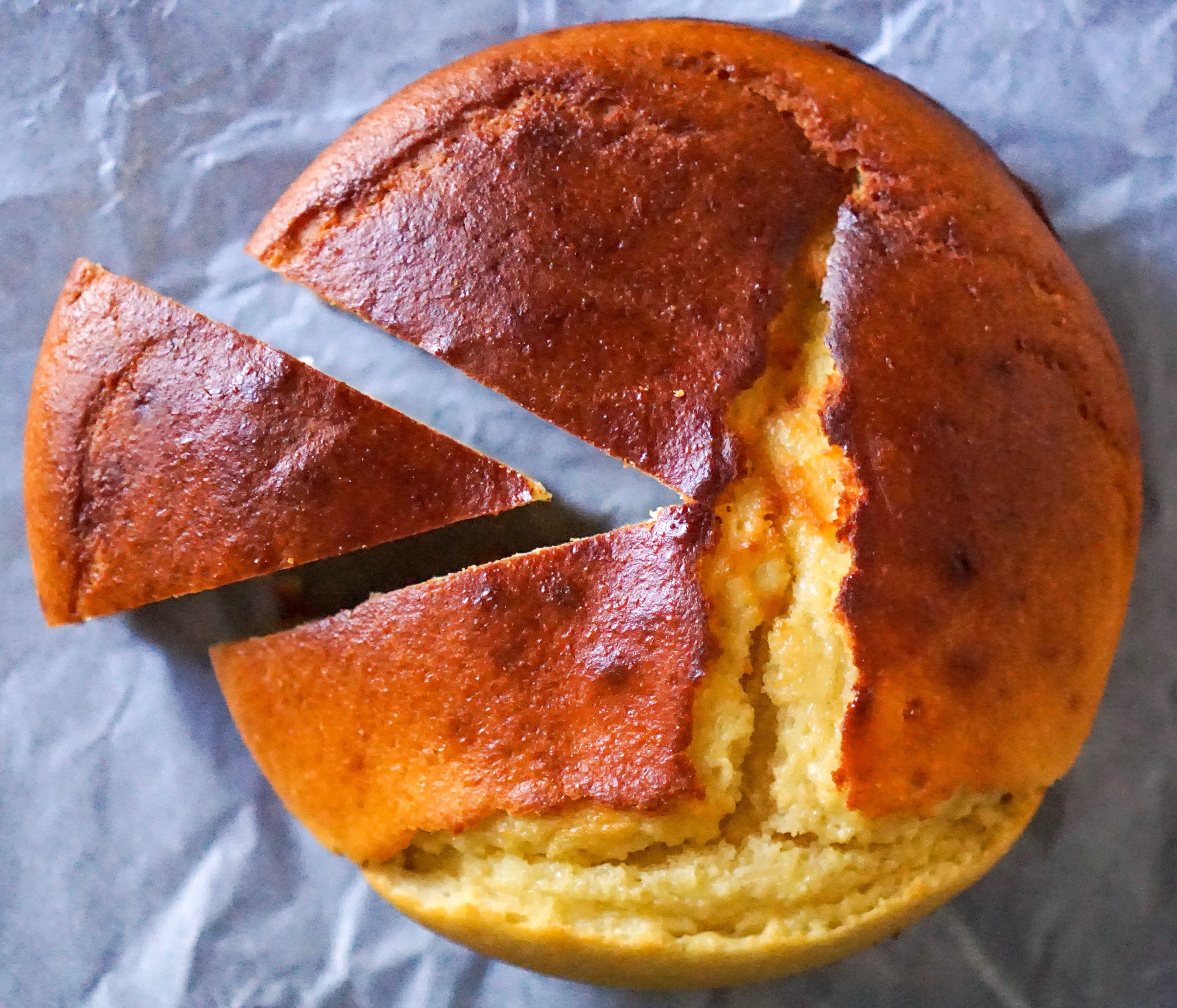 gâteau à la ricotta et fleur d'oranger