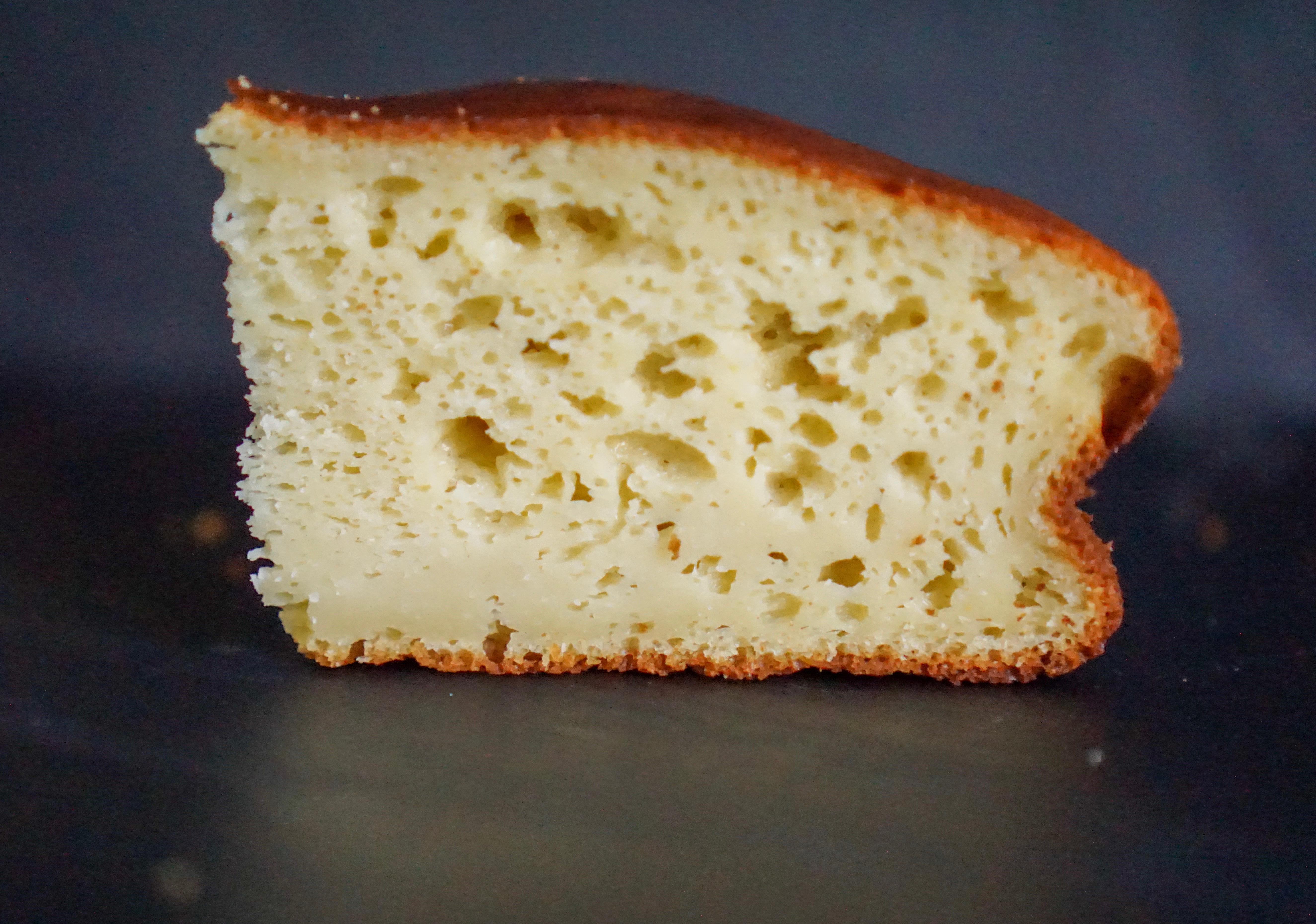gâteau à la ricotta et fleur d'oranger maison