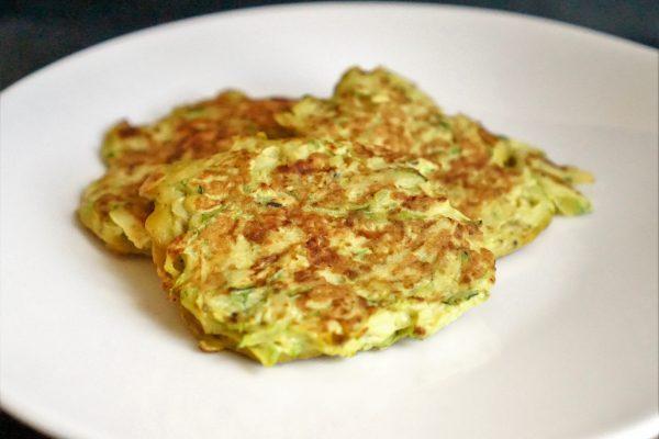 Pancakes de courgette healthy veggie sans gluten