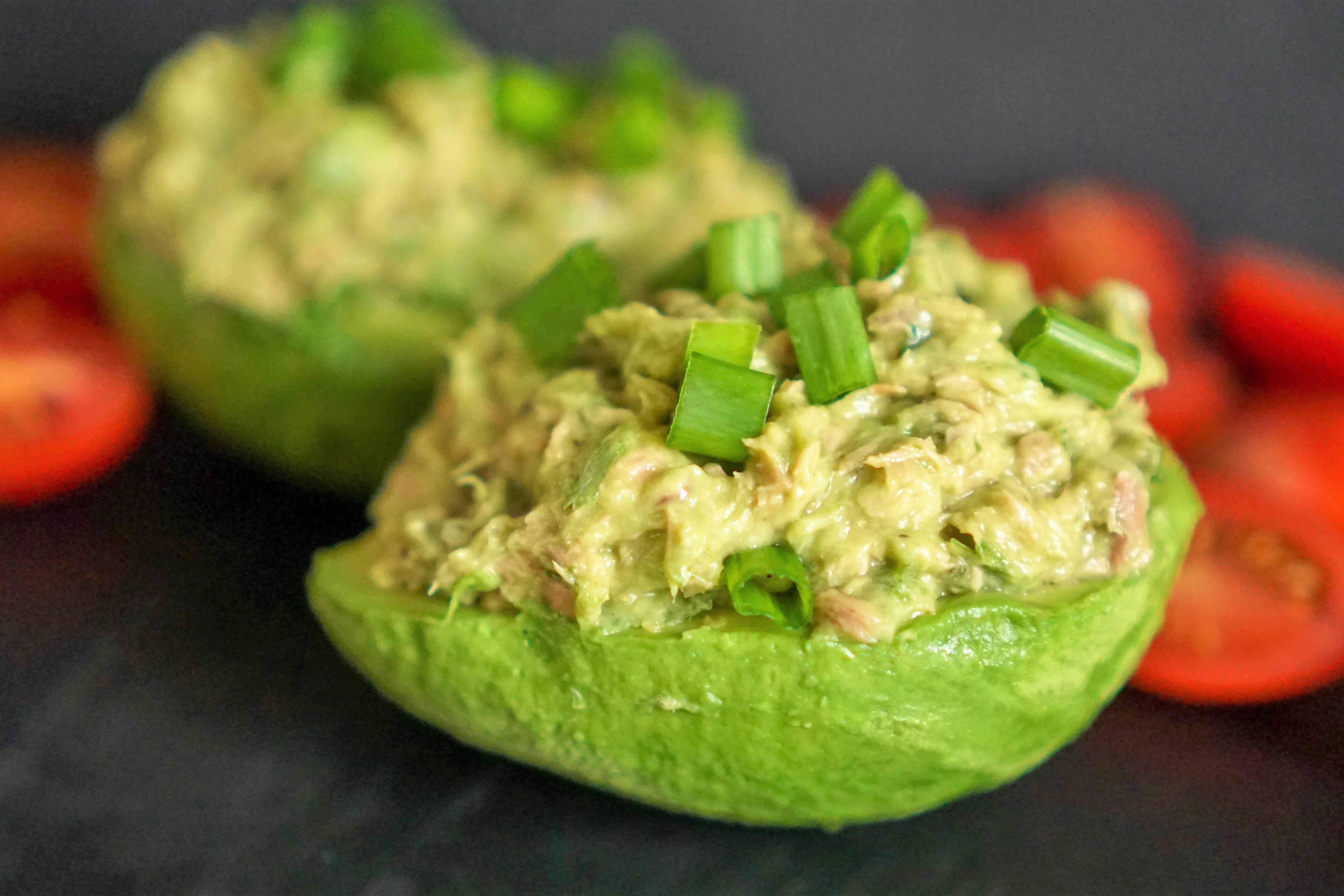 Avocats farcis au thon recette simple