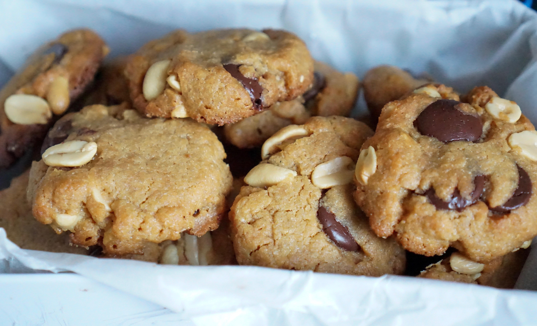 cookies au beurre de cacahuètes simples