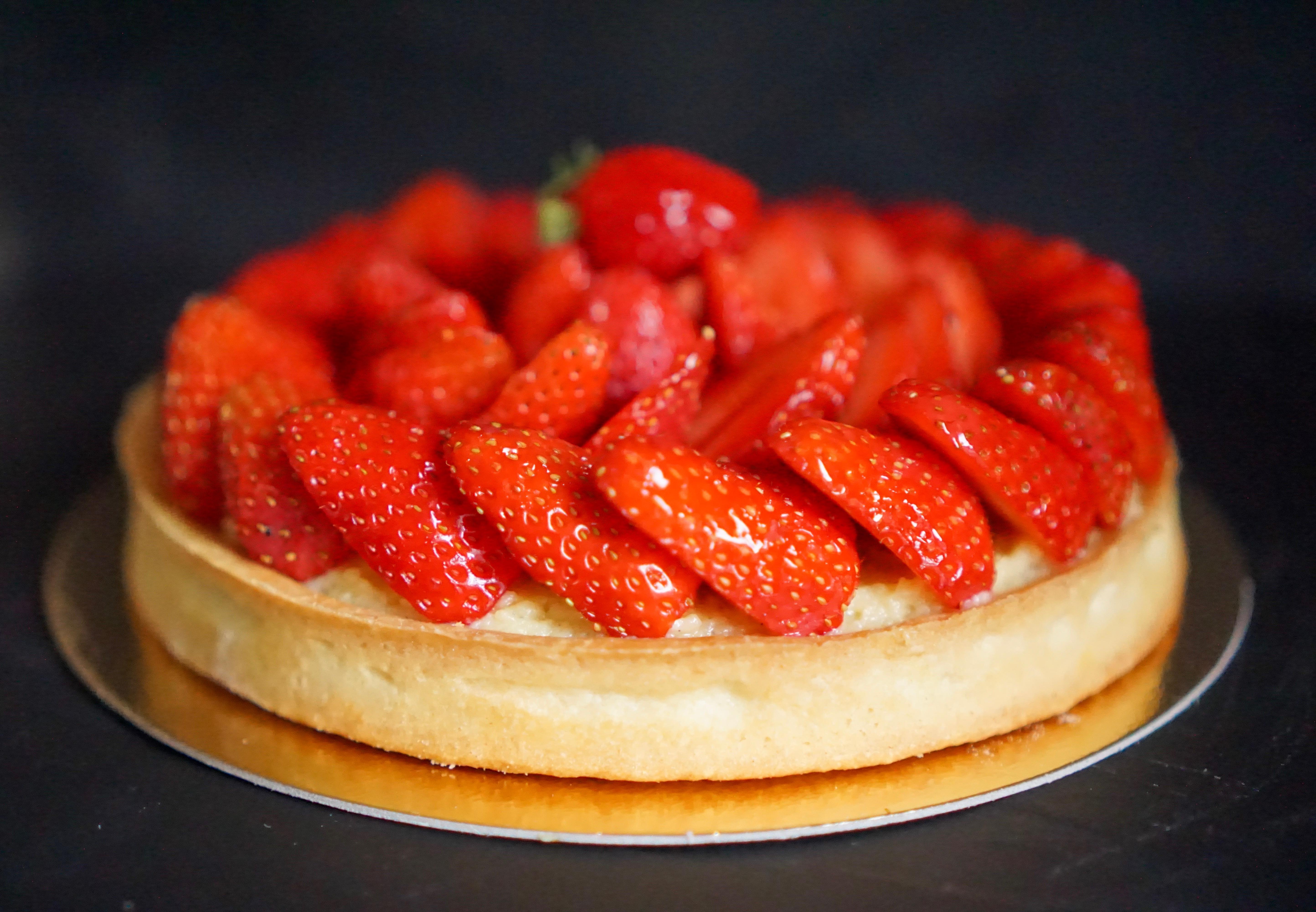 Tarte aux fraises crème pâtissière facile