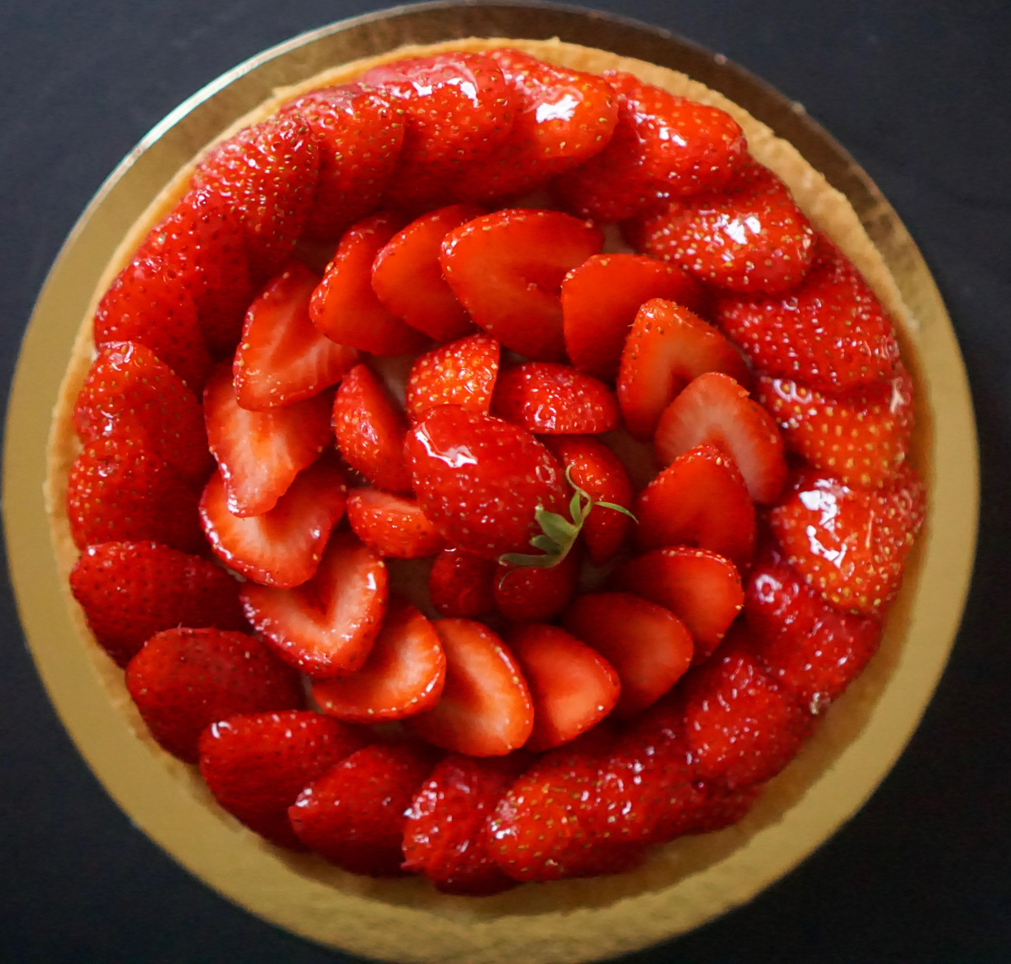 Tarte aux fraises crème pâtissière recette facile