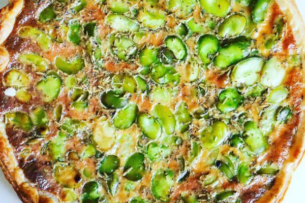 Tarte aux fèves et au thon recette facile maison