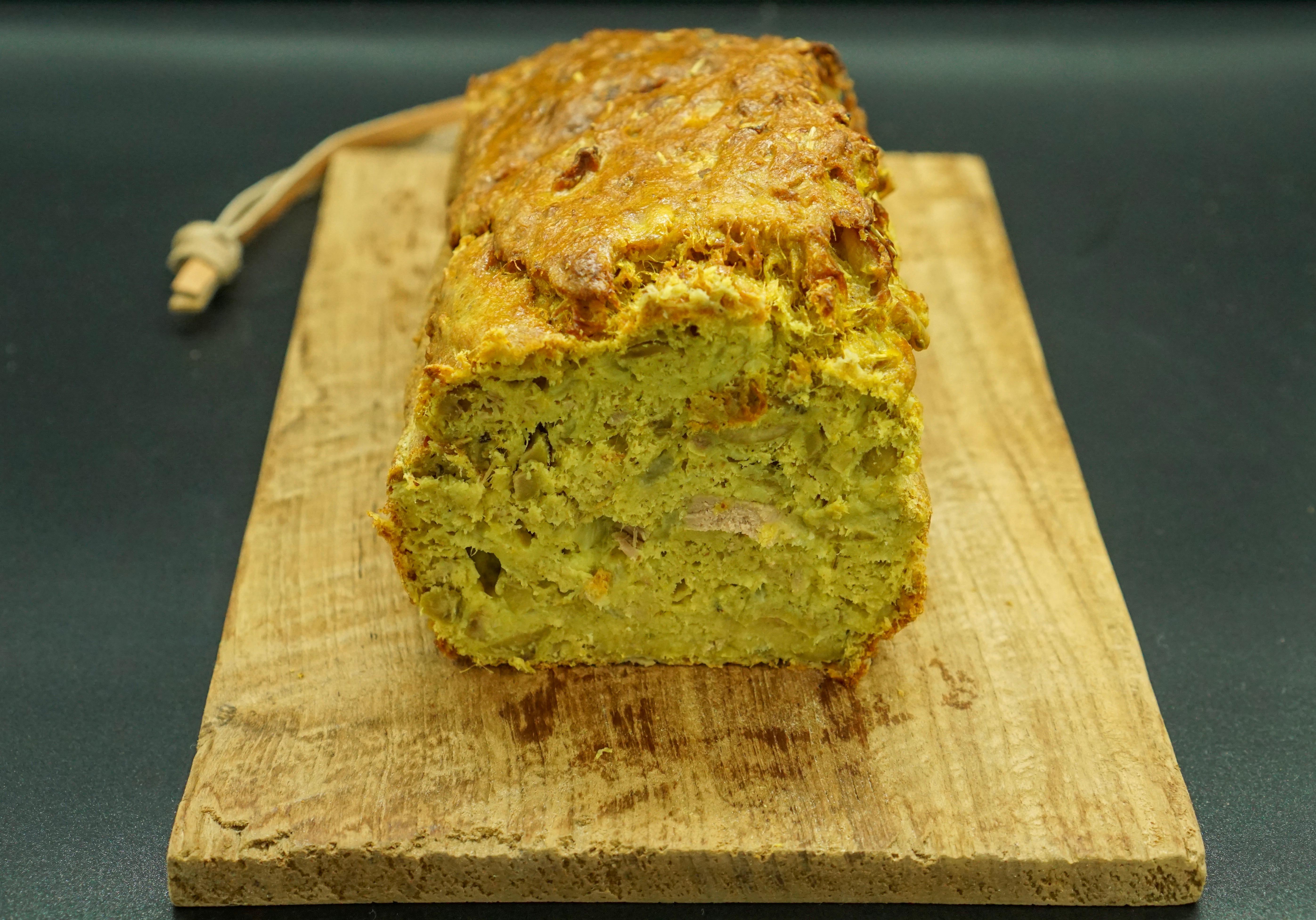 Cake au thon olives maison