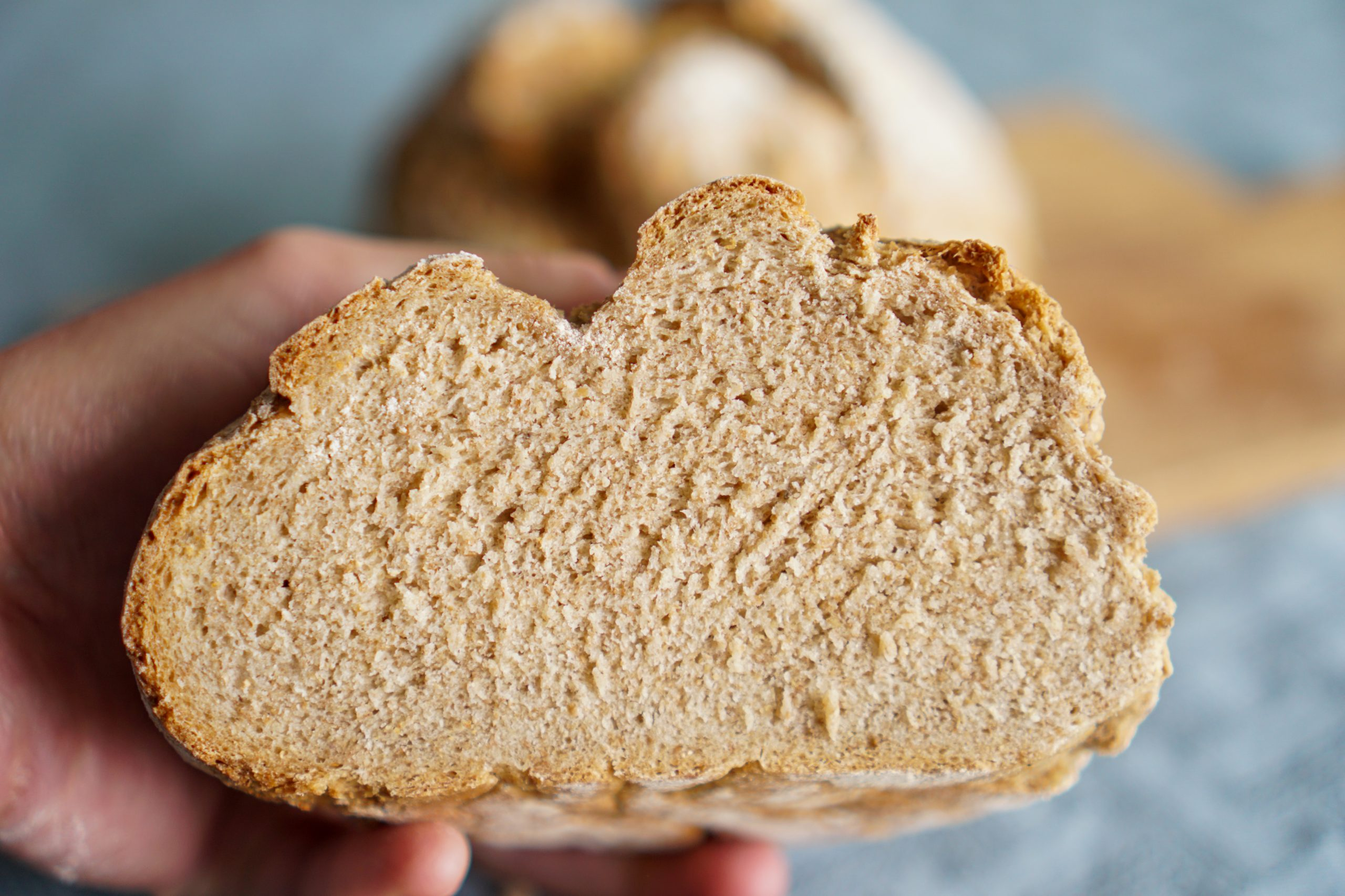 Recette du pain à la farine intégrale