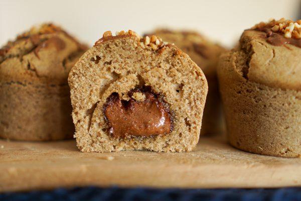 Muffins cœur Nutella recette