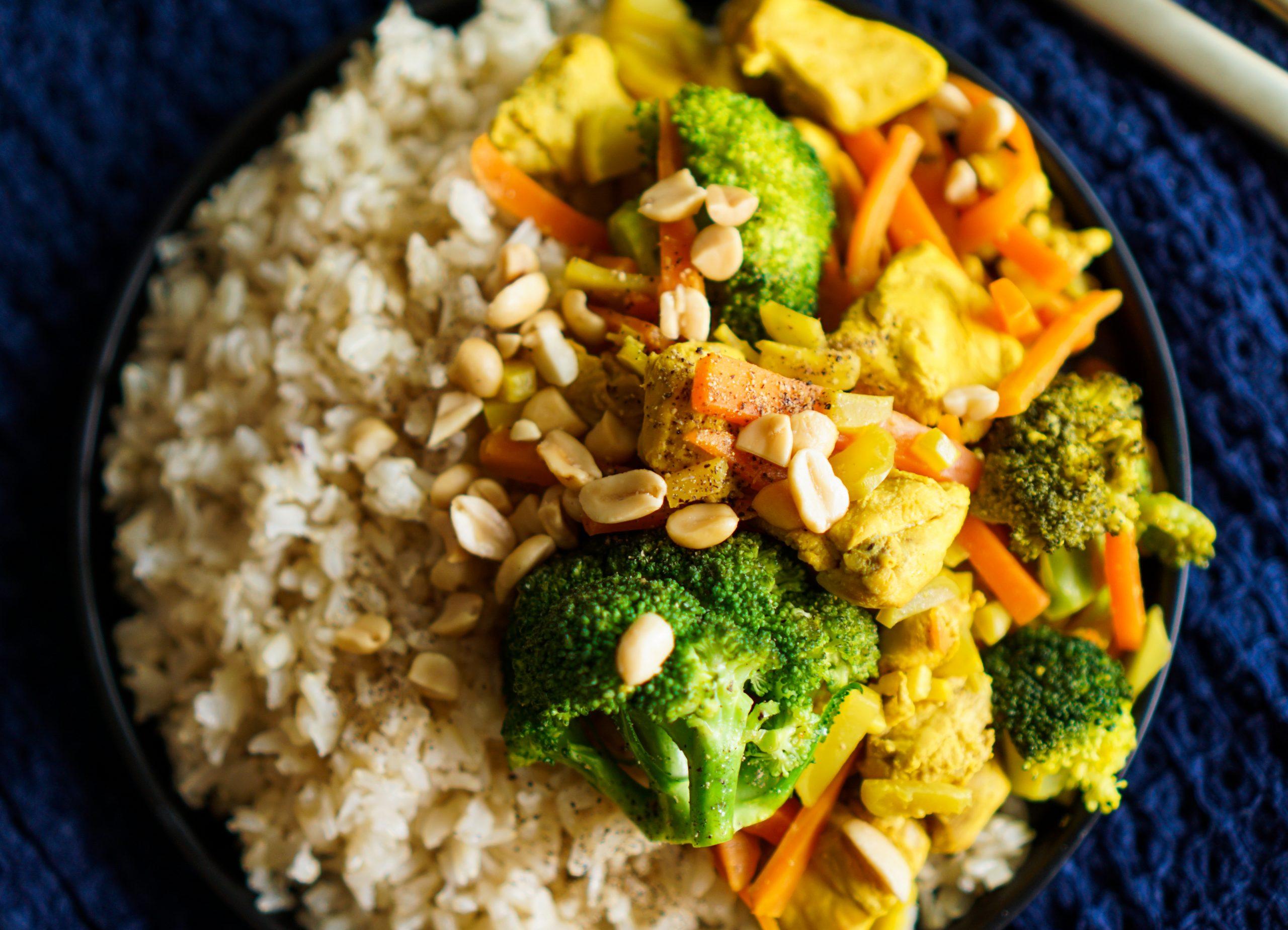 Wok de légumes rapide