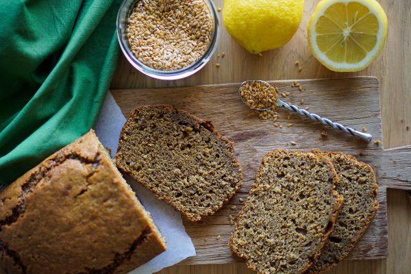 Cake au citron graines de lin recette saine