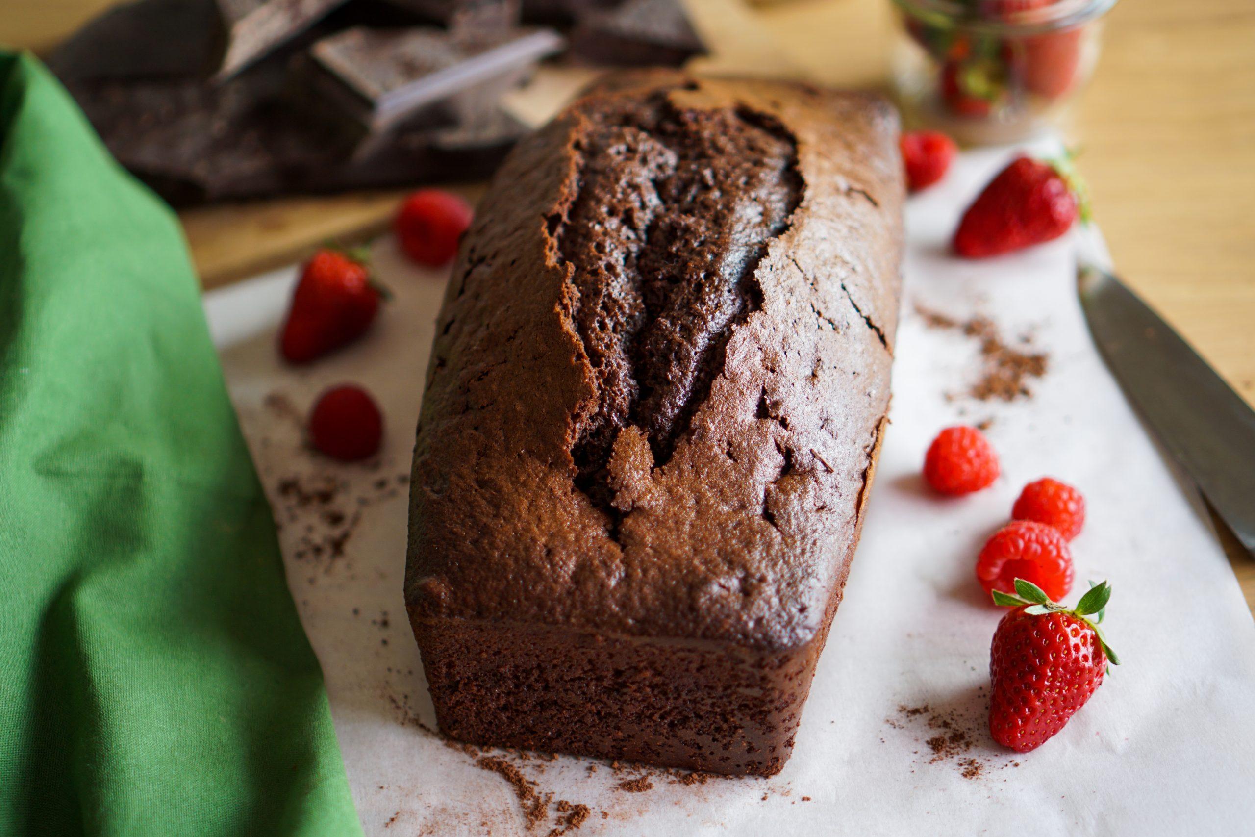 Cake moelleux au chocolat ma recette
