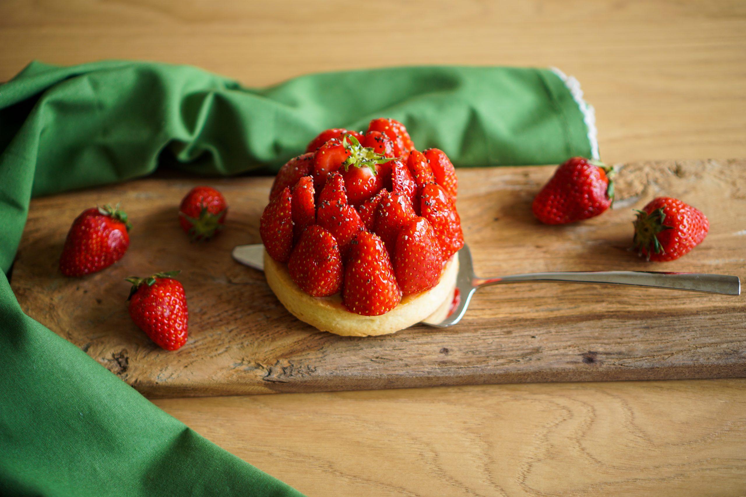 Tartelette aux fraises recette