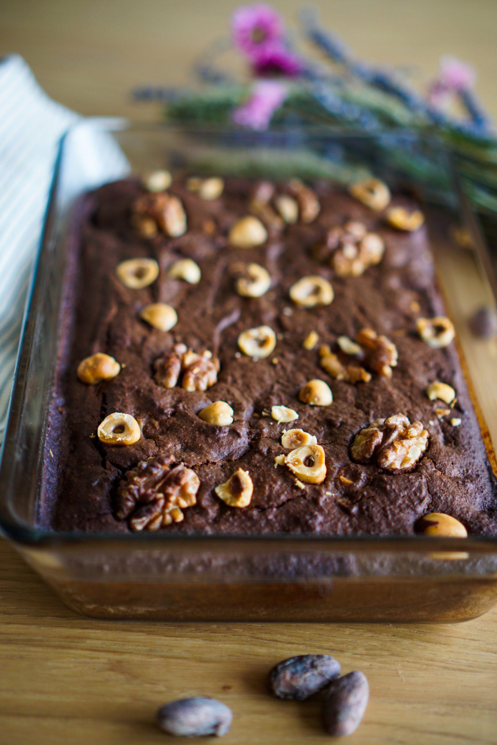 Brownie sans gluten sans lactose