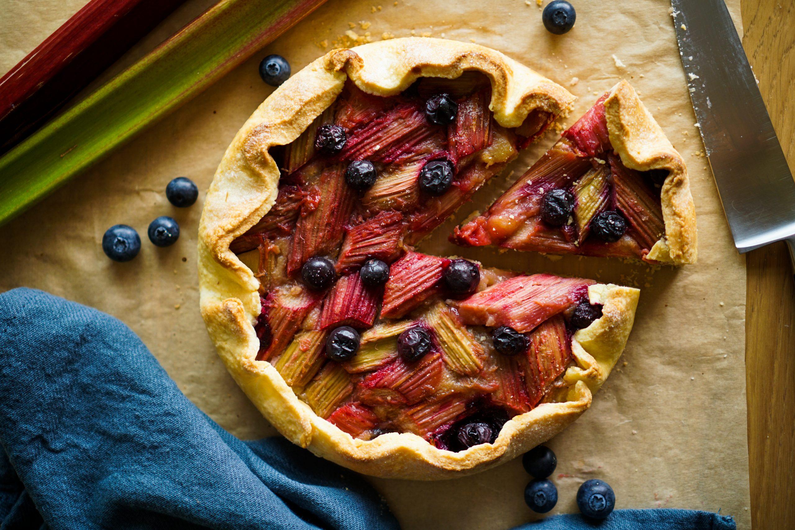 Tarte pommes rhubarbe recette facile