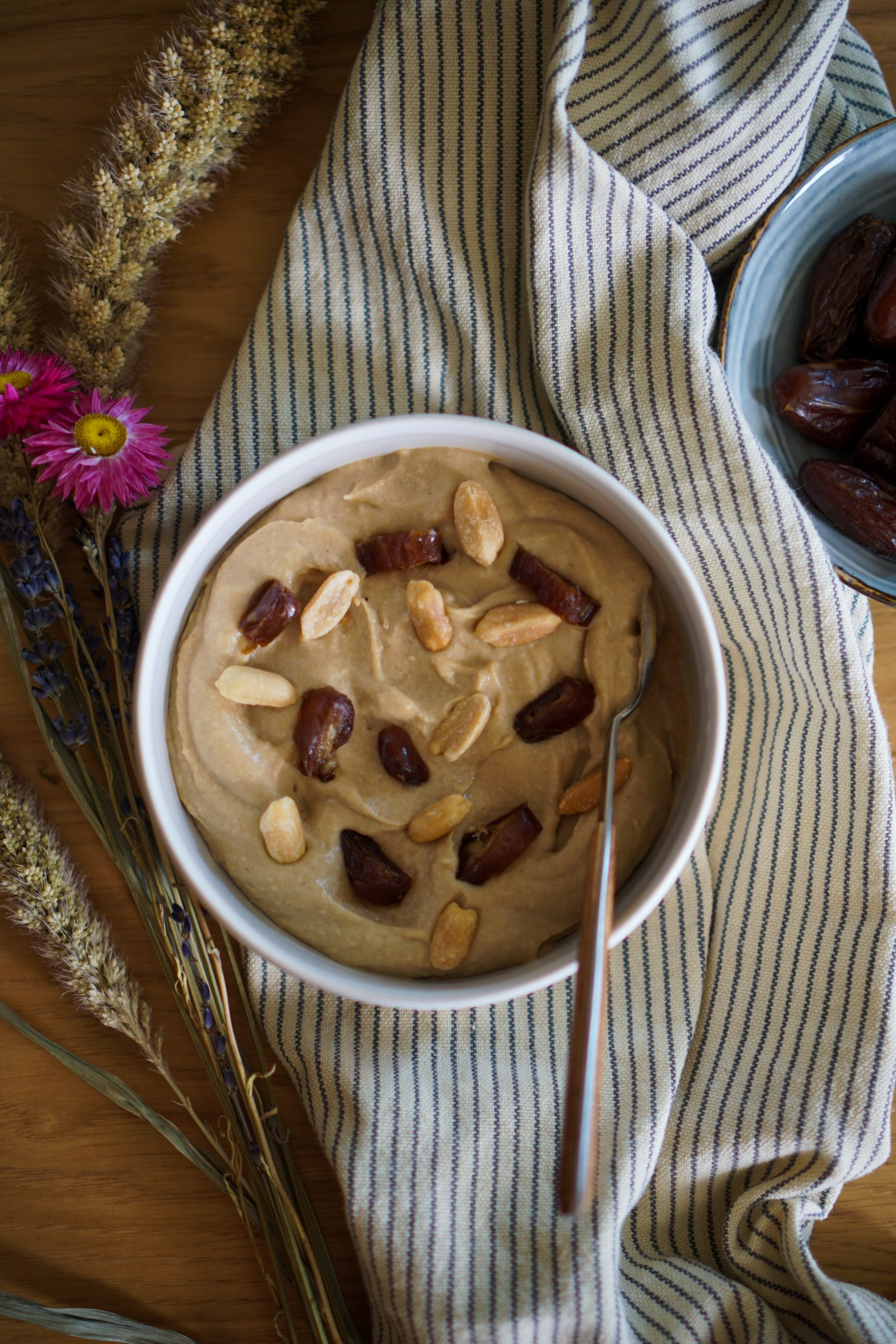 Houmous beurre de cacahuète recette facile