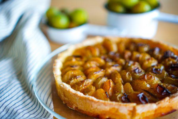 Tarte aux prunes recette rapide