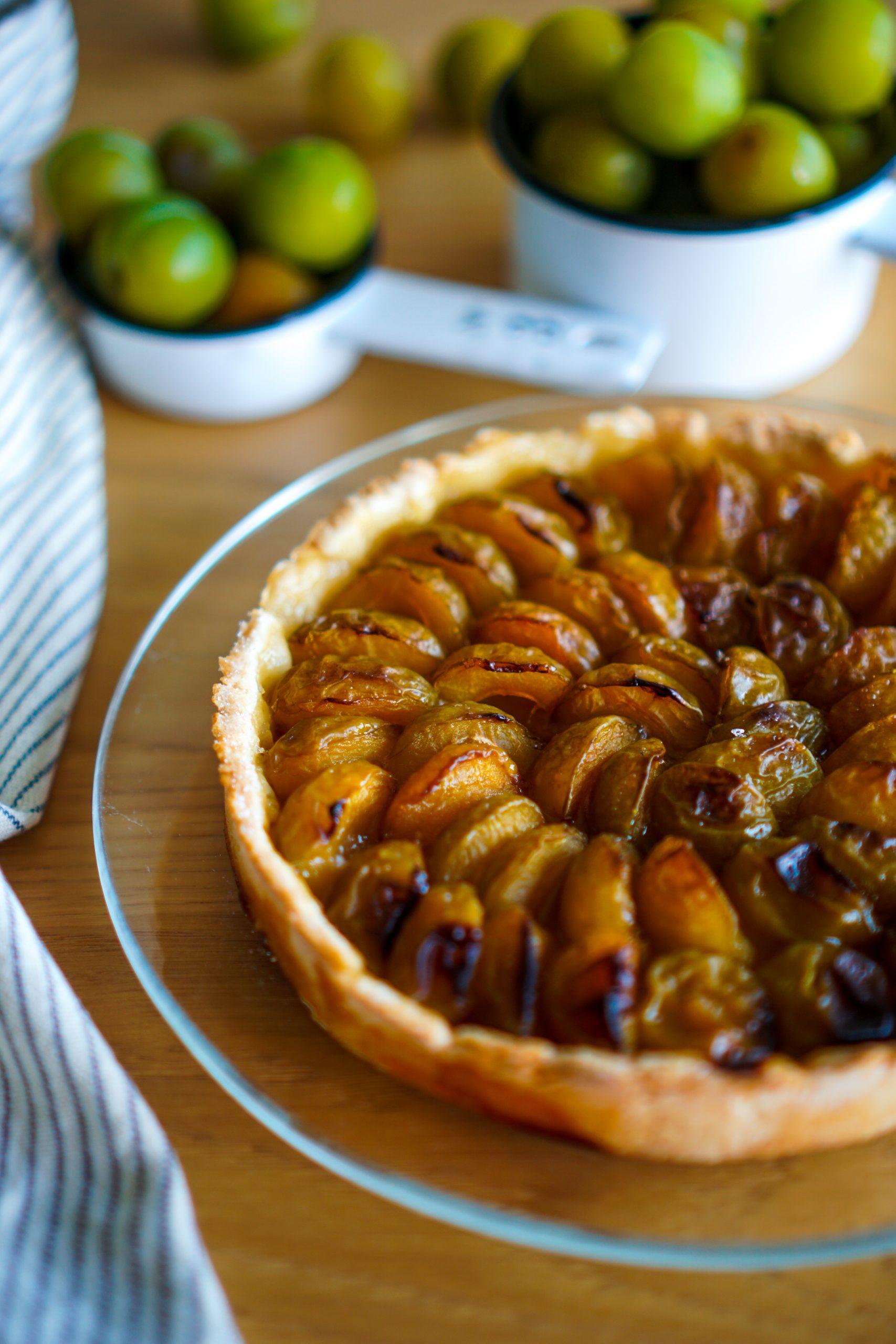 Tarte aux prunes recette facile