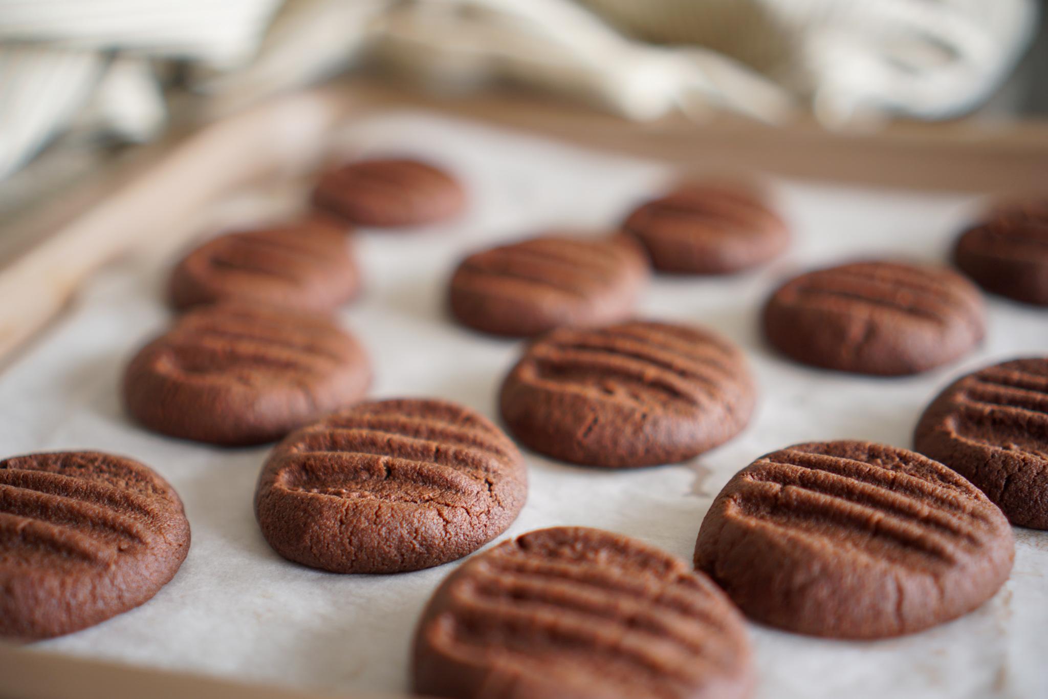 Biscuits chocolat fourchette recette facile