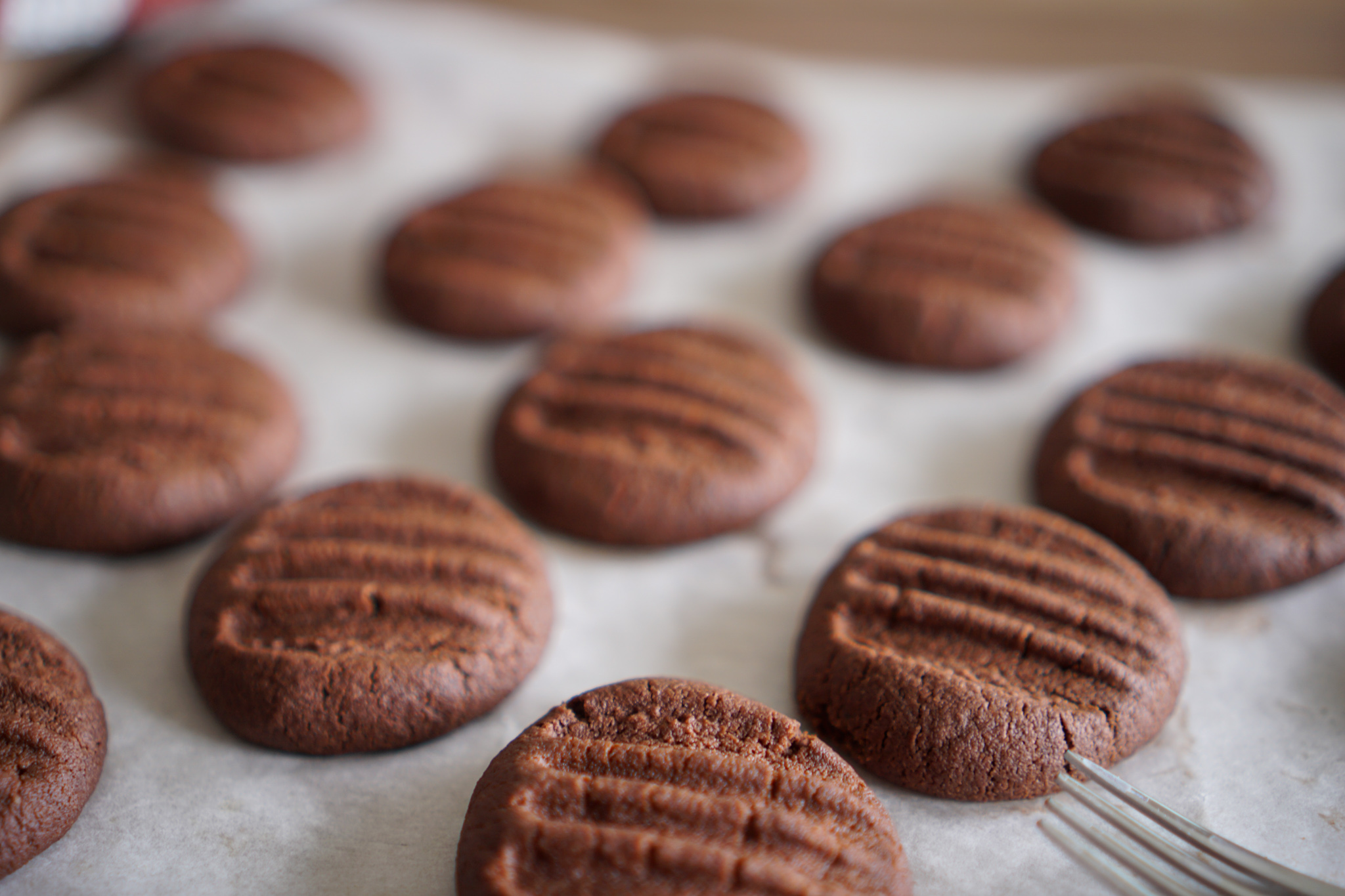 Biscuits chocolat fourchette recette simple