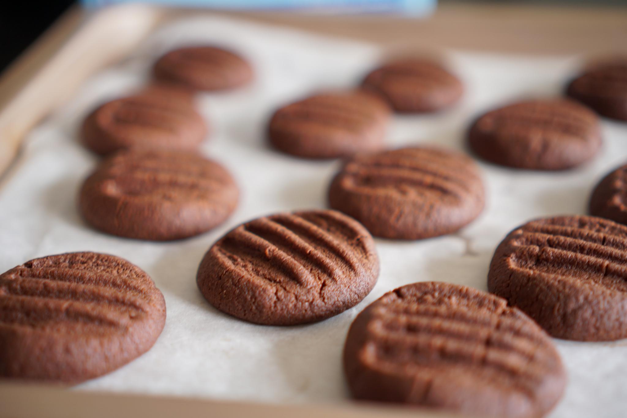 Biscuits chocolat fourchette recette