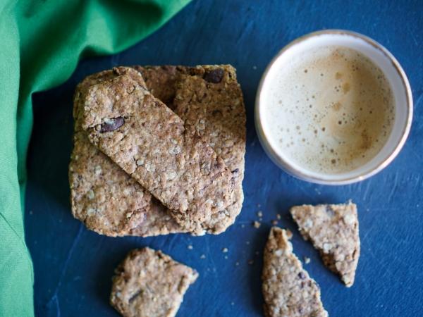 Biscuits chocolat noisettes recette saine