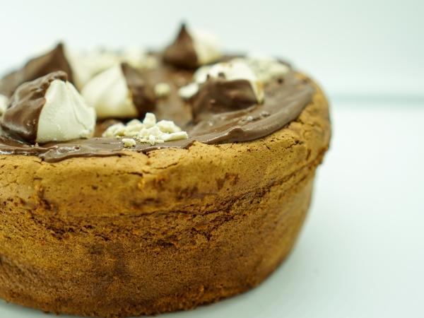 Cheesecake au chocolat maison