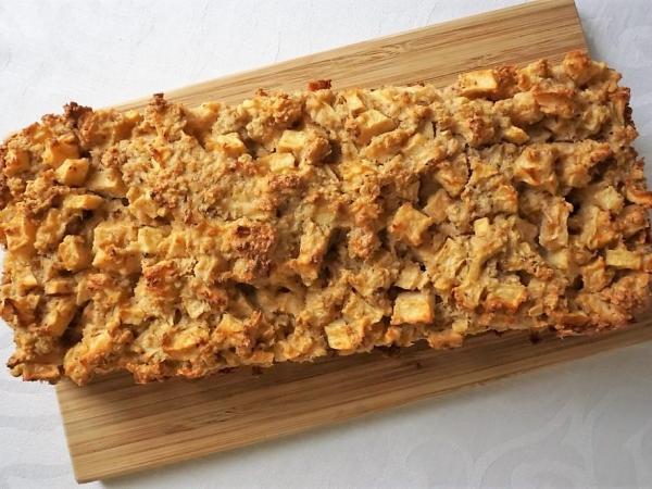 Яблочно-овсяный пирог